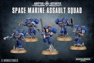 Space Marine Assault Squad - WH 40K