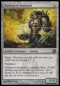 Darksteel Sentinel (Scars of Mirrodin)
