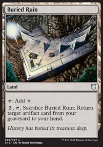 Buried Ruin (Commander 2018)