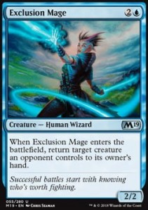 Exclusion Mage (M19 Core Set)