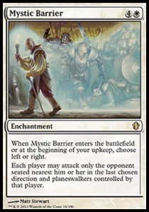 Mystic Barrier (Commander 2013)