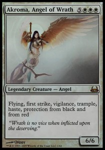 Akroma, Angel of Wrath - FOIL (DD: Divine vs. Demonic)