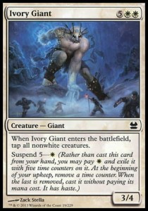 Ivory Giant (Modern Masters)