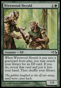 Wirewood Herald (DD: Elves vs Goblins)