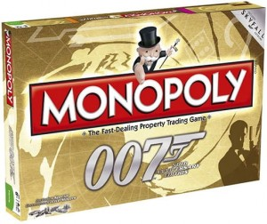 Monopoly - James Bond 007 - 50th Anniversary Edition
