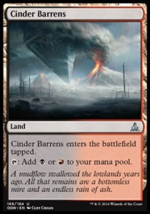 Cinder Barrens (Oath of the Gatewatch)