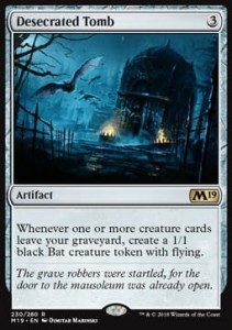 Desecrated Tomb (M19 Core Set)