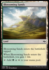 Blossoming Sands (Fate Reforged)