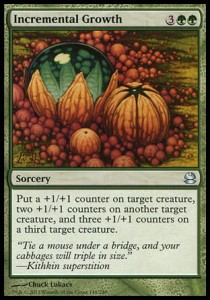 Incremental Growth (Modern Masters)