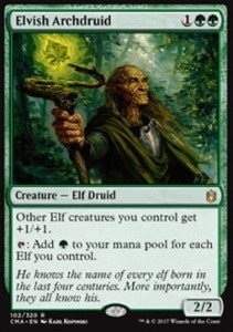 Elvish Archdruid (Commander Anthology 2017)