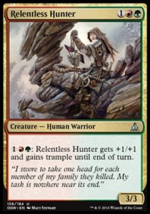 Relentless Hunter (Oath of the Gatewatch)