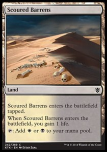 Scoured Barrens (Khans of Tarkir)