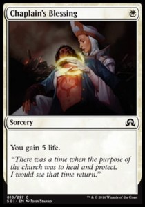Chaplain's Blessing (Shadows over Innistrad)