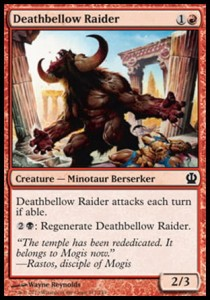 Deathbellow Raider (Theros)