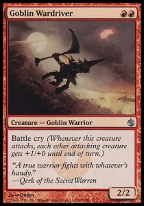 Goblin Wardriver (Mirrodin Besieged)