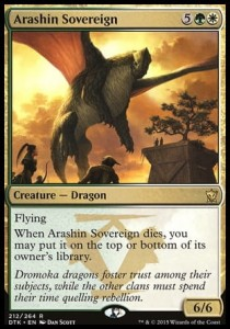 Arashin Sovereign (Dragons of Tarkir)