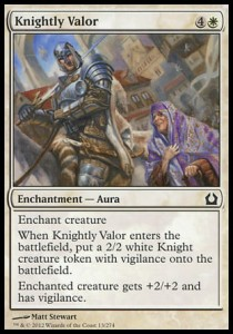 Knightly Valor (Return to Ravnica)