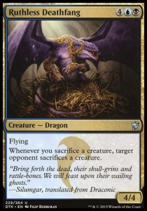 Ruthless Deathfang (Dragons of Tarkir)