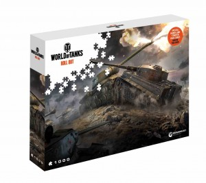 World of Tanks - East vs West - Puzzle 1000