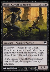 Bleak Coven Vampires (Scars of Mirrodin)