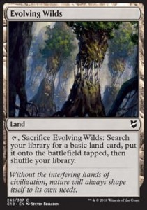 Evolving Wilds (Commander 2018)