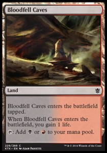 Bloodfell Caves (Khans of Tarkir)