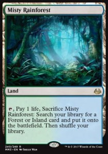 Misty Rainforest (Modern Masters 2017)