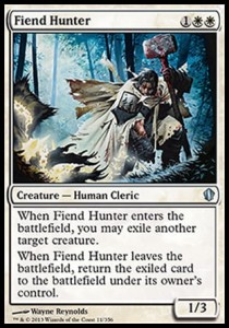 Fiend Hunter (Commander 2013)