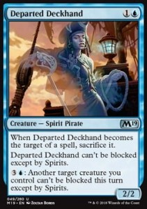 Departed Deckhand (M19 Core Set)
