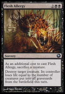 Flesh Allergy (Scars of Mirrodin)