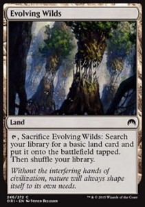Evolving Wilds (Magic Origins)