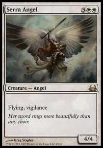 Serra Angel (DD: Divine vs. Demonic)
