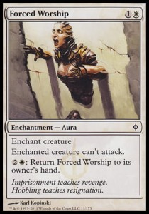 Forced Worship (New Phyrexia)