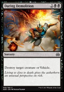 Daring Demolition (Aether Revolt)