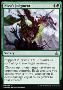 Nissa's Judgment (Oath of the Gatewatch)