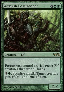 Ambush Commander - FOIL (DD: Elves vs Goblins)