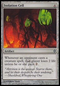 Isolation Cell (New Phyrexia)
