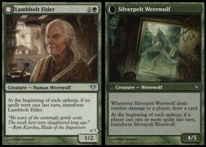 Lambholt Elder / Silverpelt Werewolf (Dark Ascension)