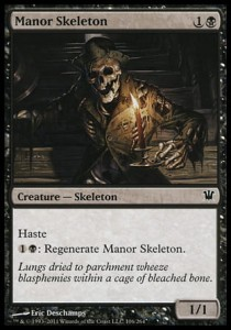 Manor Skeleton (Innistrad)