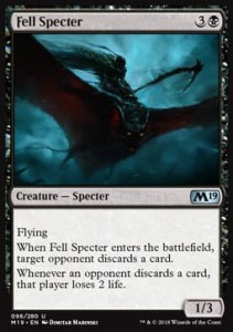 Fell Specter (M19 Core Set)