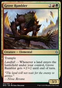 Grove Rumbler (Battle for Zendikar)