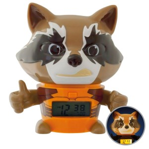 Guardians of the Galaxy Vol. 2 BulbBotz Alarm Clock with Light Rocket 13 cm
