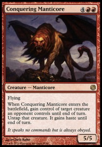 Conquering Manticore (DD: Heroes vs Monsters)