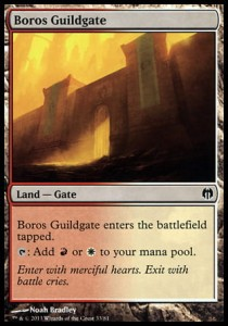 Boros Guildgate (DD: Heroes vs Monsters)