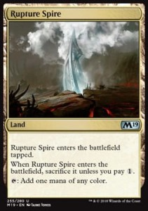 Rupture Spire (M19 Core Set)