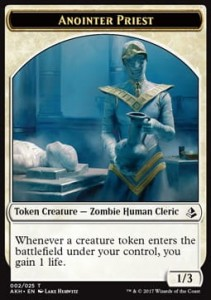 Anointer Priest Token (Amonkhet 02/25)