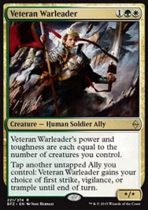 Veteran Warleader (Battle for Zendikar)
