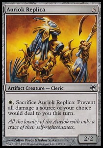 Auriok Replica (Scars of Mirrodin)