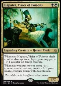Hapatra, Vizier of Poisons (Amonkhet)