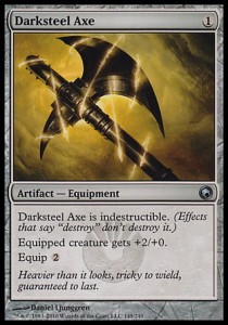 Darksteel Axe (Scars of Mirrodin)